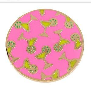🍋 Covet 24k Arielle Collection lemon drop ring